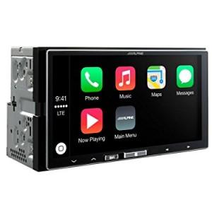 Alpine-iLX-700-Apple-Car-Play-Touchscreen-iPhone-Head-Unit-App-Link-Station-0