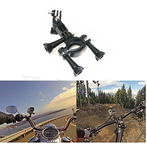 Montage-Zubehr-Set-13-in-1-fr-Gopro-Hero-433-2-Brust-Gurt-Kopf-Gurt-Teleskop-Einbeinstativ-Lenkerhalterung-Saugnapf-Tauchen-Schwimm-Einbeinstativ-Handschlaufe-360-Halterungen-Clip-0-4