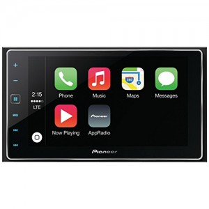 PIONEER-SPH-DA120-62-Double-DIN-In-Dash-AppRadioR-4-Receiver-with-Capacitive-Touchscreen-Apple-CarPlayTM-BluetoothR-SiriR-Eyes-Free-AndroidTM-Music-Support-PandoraR-Internet-Radio-0