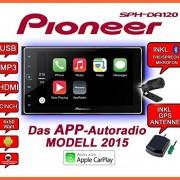 VW-Golf-6-Pioneer-SPH-DA120-2DIN-USB-Bluetooth-Apple-CarPlay-Autoradio-Einbauset-0-0