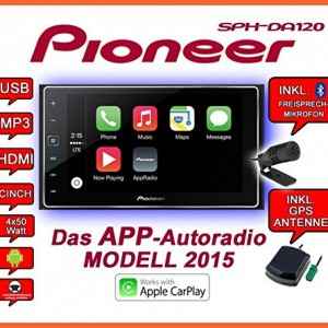 VW-Golf-6-Pioneer-SPH-DA120-2DIN-USB-Bluetooth-Apple-CarPlay-Autoradio-Einbauset-0-0