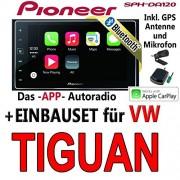 VW-Tiguan-Pioneer-SPH-DA120-2DIN-USB-Bluetooth-Apple-CarPlay-Autoradio-Einbauset-0