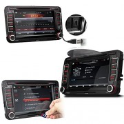 XOMAX-XM-VW04-Autoradio-fr-Volkswagen-SKODA-SEAT-Moniceiver-Naviceiver-mit-GPS-Navigation-NAVI-Software-Polnav-Car-Navigator-6-inkl-Europa-Karten-50-Lnder-Bluetooth-Freisprechfunktion-18-cm-7-Zoll-0-1