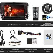XOMAX-XM-VW04-Autoradio-fr-Volkswagen-SKODA-SEAT-Moniceiver-Naviceiver-mit-GPS-Navigation-NAVI-Software-Polnav-Car-Navigator-6-inkl-Europa-Karten-50-Lnder-Bluetooth-Freisprechfunktion-18-cm-7-Zoll-0-5